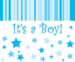 it s a boy birth announcement